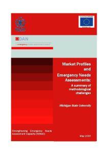 DAN..:: emergency needs assessment branch