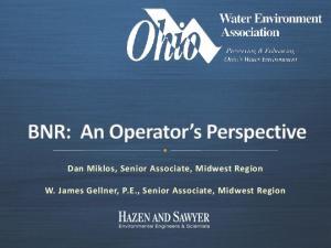 Dan Miklos, Senior Associate, Midwest Region. W. James Gellner, P.E., Senior Associate, Midwest Region