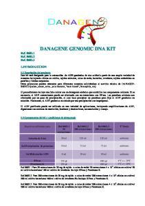 DANAGENE GENOMIC DNA KIT