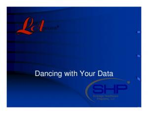 Dancing with Your Data