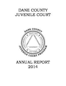 DANE COUNTY JUVENILE COURT