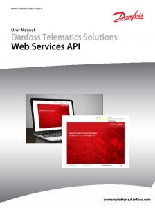 Danfoss Telematics Solutions Web Services API
