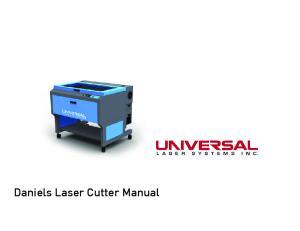 Daniels Laser Cutter Manual