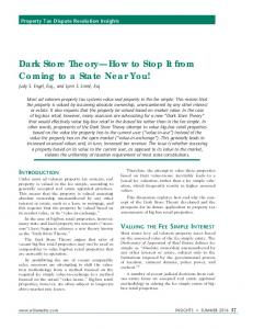 Dark Store Theory How to Stop It from Coming to a State Near You!