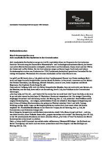 Darmstadt, den 9. Mai 2017 Eva Arnold Tel Medieninformation