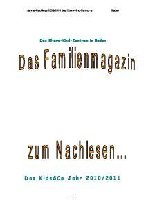 Das Eltern-Kind-Zentrum in Baden