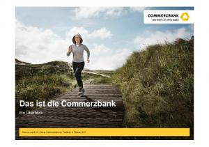 Das ist die Commerzbank