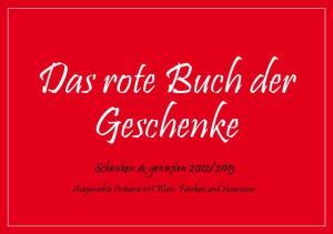 Das rote Buch der Geschenke