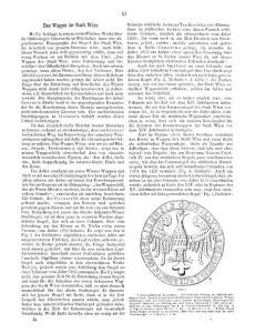 Das Wappen der Stadt Wien