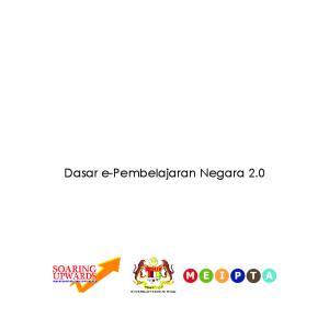 Dasar e-pembelajaran Negara 2.0