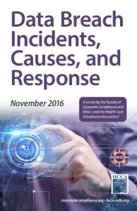 Data Breach Incidents, Causes, and Response