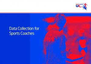 Data Collection for Sports Coaches