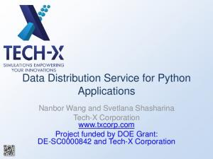 Data Distribution Service for Python Applications