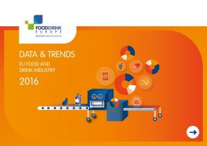 DATA & TRENDS EU FOOD AND DRINK INDUSTRY