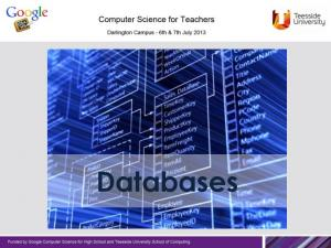 Databases - Definition