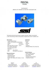 DATASHEET ABSOLUTE MAGNETIC ROTARY ENCODER SSI