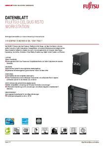 Datenblatt. Workstation. Ihr kompaktes Workstation- Kraftpaket