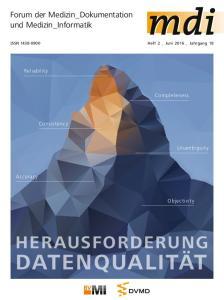 Datenqualität. Herausforderung. Forum der Medizin_Dokumentation und Medizin_Informatik. Reliability. Completeness. Consistency. Unambiguity