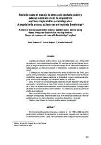David Sanhueza C 2, Patricia Esquivel C 1, Claudia Dentone S 1