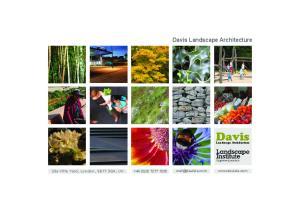 Davis Landscape Architecture. Davis. Landscape Architecture