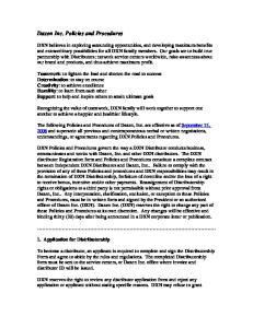 Daxen Inc. Policies and Procedures