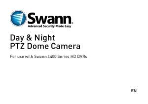 Day & Night PTZ Dome Camera