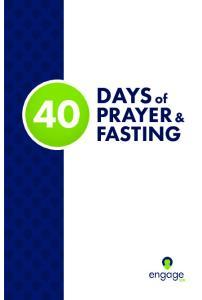 DAYS of PRAYER & FASTING