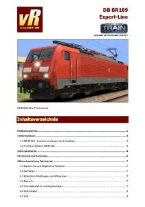 DB BR189 Expert-Line. DB BR Verkehrsrot