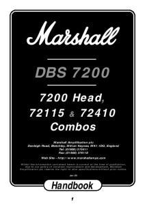 DBS Head, & Combos