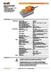 DC 24 V Nominal voltage frequency