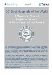 DC Best Hospitals of the World