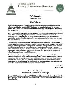 DC Forester November 2006
