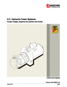 D.C. Hydraulic Power Systems