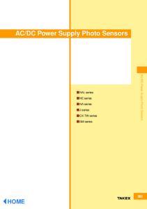 DC Power Supply Photo Sensors