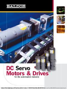 DC Servo Motors & Drives