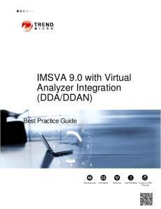 DDAN) Best Practice Guide