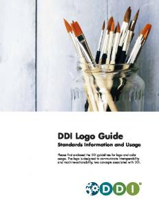 DDI Logo Guide Standards Information and Usage