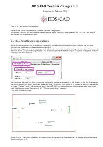 DDS-CAD Technik-Telegramm