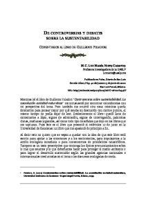 DE CONTROVERSIAS Y DEBATES