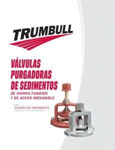 de hierro fundido y de acero inoxidable PARA Plantas de tratamiento DE AGUAS Y AGUAS SERVIDAS