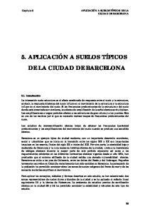 DE LA CIUDAD DE BARCELONA