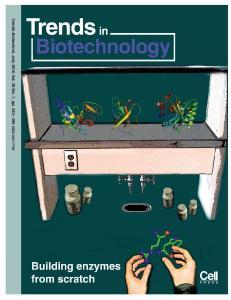 De novo enzymes: from computational design to mrna display