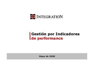 de performance Mayo de 2008