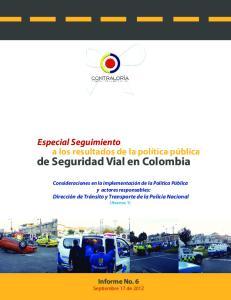 de Seguridad Vial en Colombia