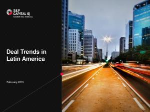 Deal Trends in Latin America. February 2015