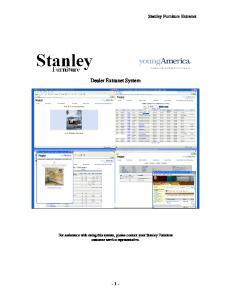 Dealer Extranet System