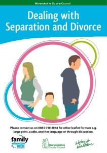 Dealing with Separation and Divorce
