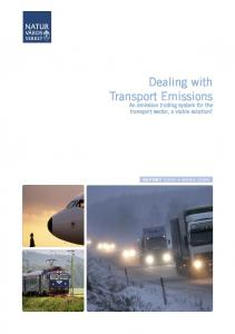 Dealing with Transport Emissions. An emission trading system for the transport sector, a viable solution?