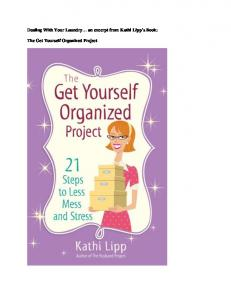 Dealing With Your Laundry an excerpt from Kathi Lipp s Book: The Get Yourself Organized Project