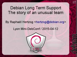 Debian Long Term Support The story of an unusual team